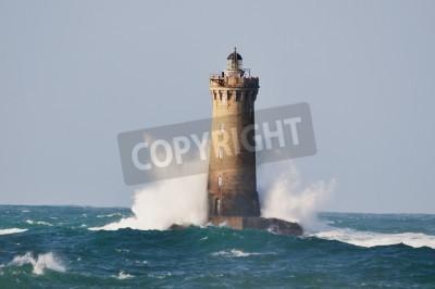 Nálepka Lighthouse nazvaný