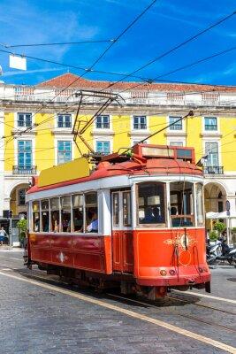 Nálepka Lisabon tramvaj