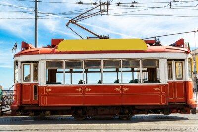 Nálepka Lisabon tramvají