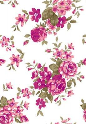 Nálepka Livia Floral Pattern