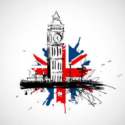 Nálepka Londýn !