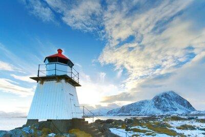 Nálepka Maják v Lofoten