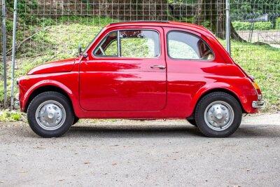 Nálepka Malé auto / malé červené auto