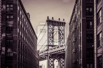 Nálepka Manhattan Bridge