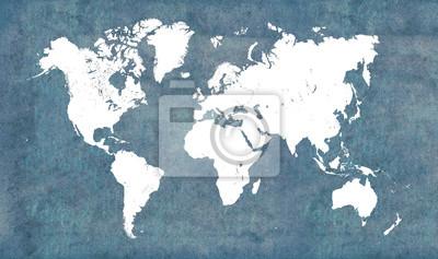 Nálepka Mapa světa, ročník
