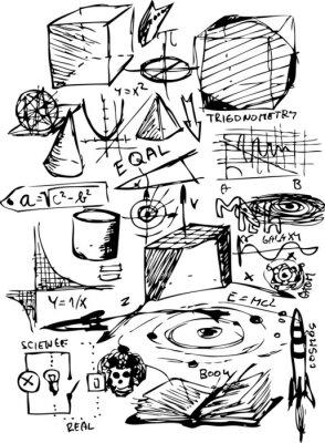 Nálepka Matematické symboly
