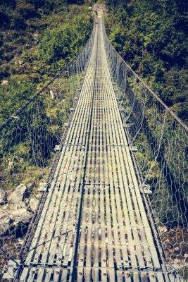 Nálepka Metal visutý most.
