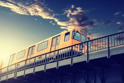Nálepka Metro