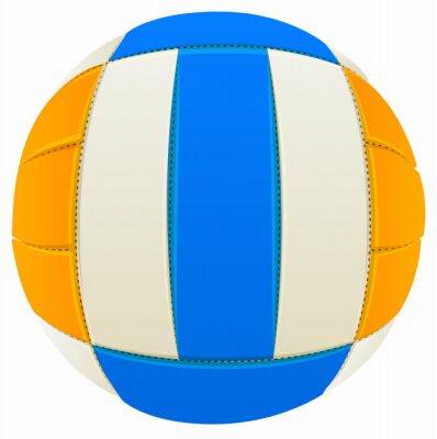 Nálepka Míč na volejbal