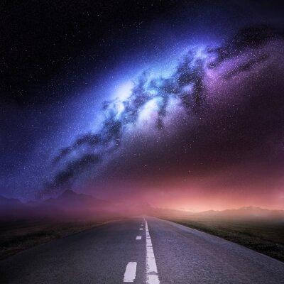 Nálepka Mléčná dráha od Země