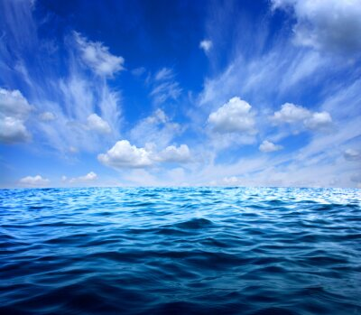 Nálepka Modré mořské vody