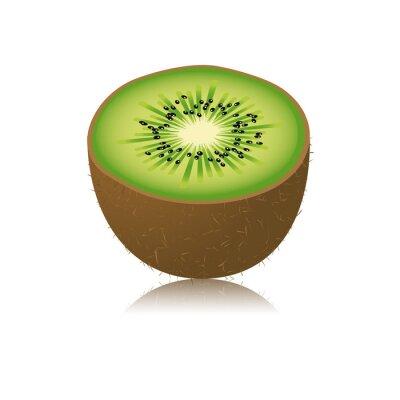 Nálepka Moitié de kiwi