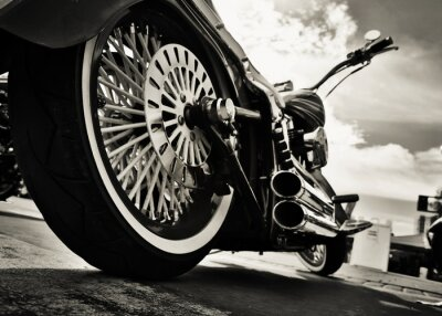 Nálepka Motocykl
