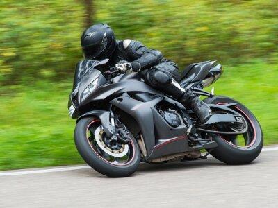 Nálepka Motocyklové závody