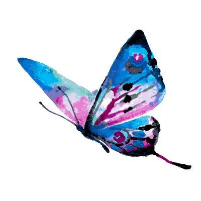 Nálepka motýli designu