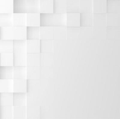 Nálepka Mozaika čtvercové pozadí. Abstrakt Geometrický minimalistický design krytu. Vektorová grafika.