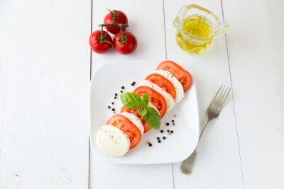 Nálepka Mozzarella pro pomidorami i pieprzem