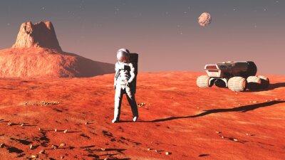 Nálepka na Marsu