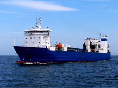Nálepka Nákladní loď Ro-Ro