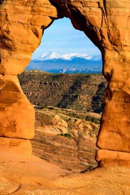 Nálepka Národní park Arches