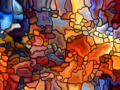 Nálepka Návrat Stained Glass