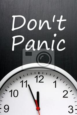 Nepropadejte panice o čas vypršel před uplynutím lhůty