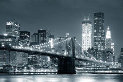 Nálepka New York Brooklyn Bridge