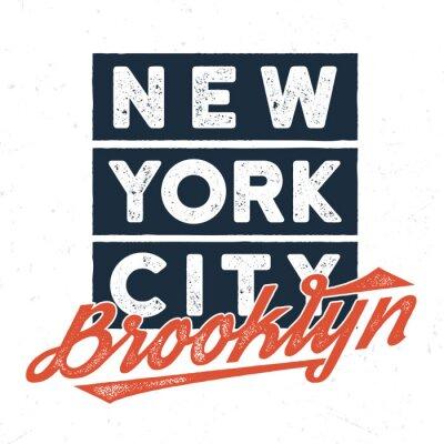 Nálepka New York City Brooklyn - Tee Design pro tisk