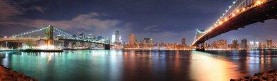 Nálepka New York City panorama