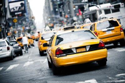 Nálepka New York taxi