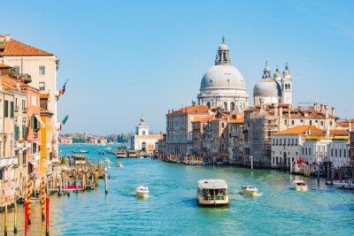 Nálepka Noční obloha v Benátkách, Itálie