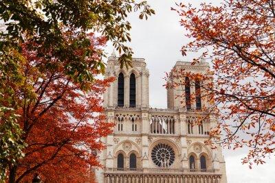 Nálepka Notre Dame, Paris
