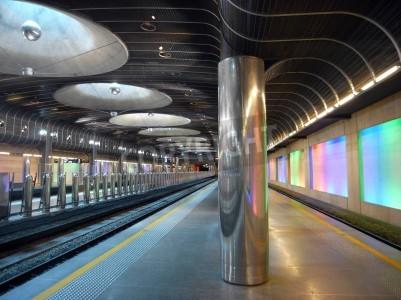 Nálepka Nové vlakové nádraží - Auckland architektura
