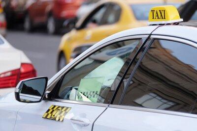 Nálepka Obraz taxi