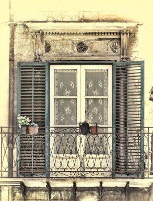 Nálepka Okno v Palermu