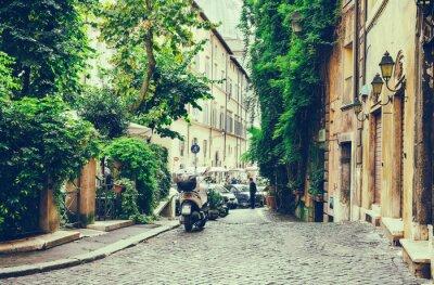 Nálepka Old nádvoří v Řím, Itálie