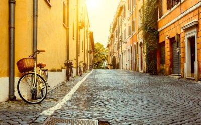 Nálepka Old Street v Římě, Itálie