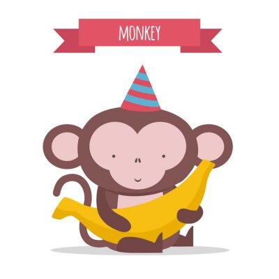 Nálepka Opice