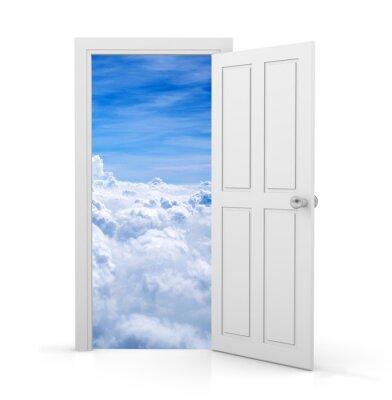 Nálepka otevřít dveře