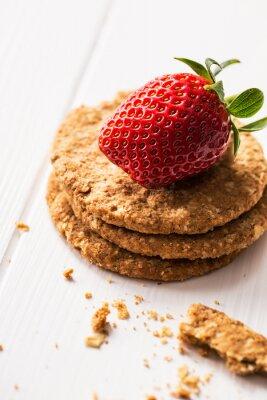 Nálepka Ovesné sušenky s kiwi marmeládou
