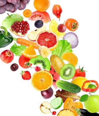 Nálepka Ovoce a zelenina