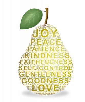 Nálepka Ovoce Ducha