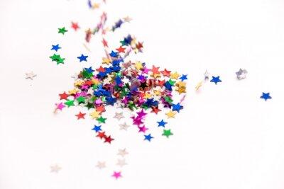 Padající konfety