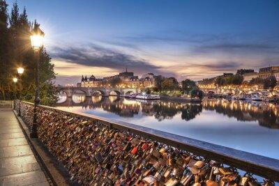 Nálepka Paříž - Pont des Arts
