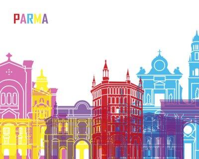 Nálepka Parma panorama pop