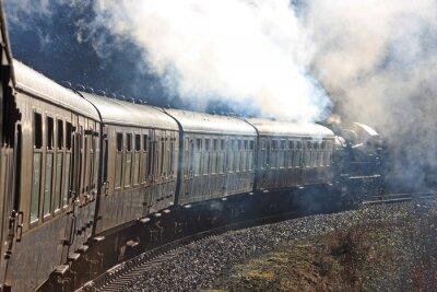 Nálepka Parní vlak