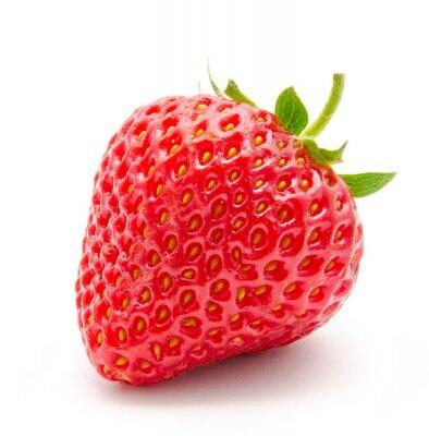 Nálepka Perfektní červené zralé jahody