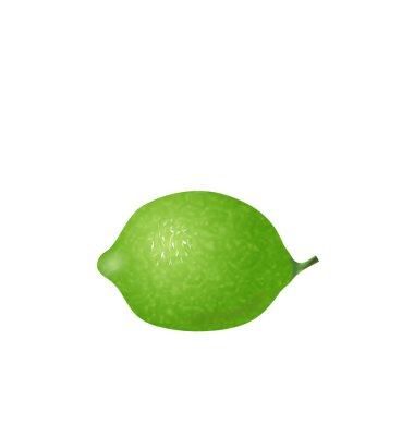 Nálepka  Photo Realistic Lime Isolated