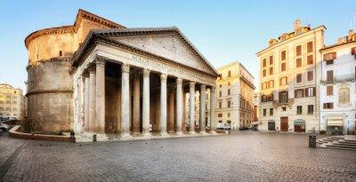 Nálepka Piazza della Rotonda e il Pantheon, Roma
