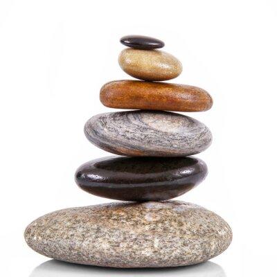 Nálepka pietre impilate v Fondo bianco